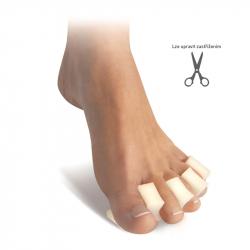 Podložka prstov - hrebeň
