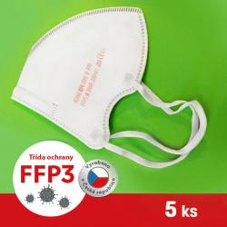 Respirátor / Filtrační polomaska ROYAX FFP3
